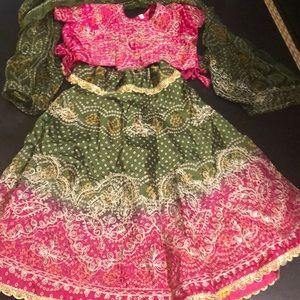lehenga set , Indian skirt set, Bollywood set